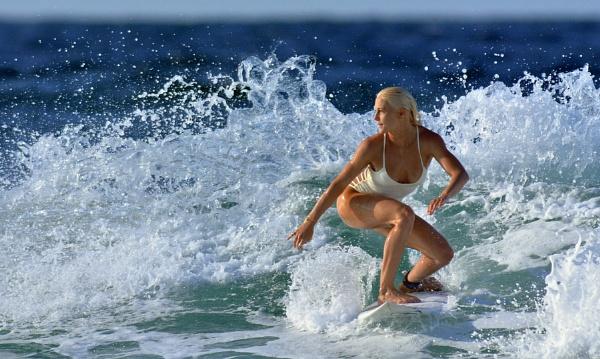 Surfer Girl - (Tatiana Weston Webb) the colour version... by steevo46