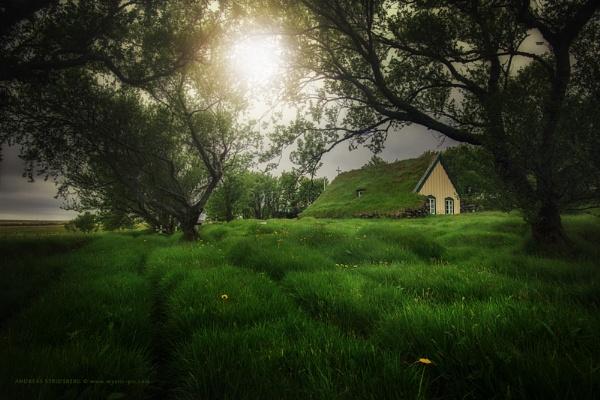 Hofskirkja - Iceland by A_Stridsberg