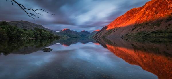 September sunset by BobShaw