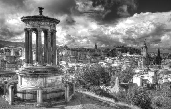 Edinburgh from Carlton Hill by maphotography