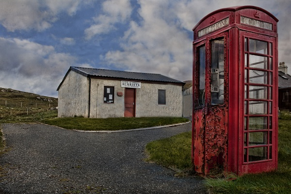 Scarista Post Office by pink