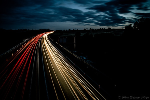 Night Traffic by antisilence
