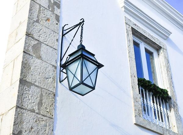 Cascais street lamp by HarrietH