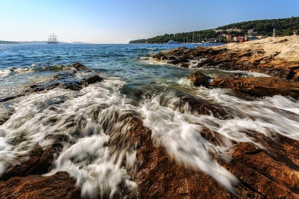 Hvar Rocky Coastline by Philpot