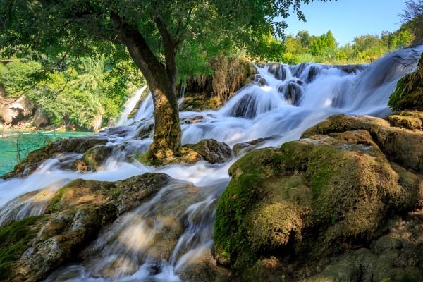 Krka National Park Waterfall by Philpot