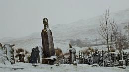 Ancient Tombstones Tyndrum Scotland