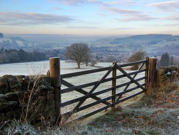 Frosty Morning Derbyshire Dales by Legend147