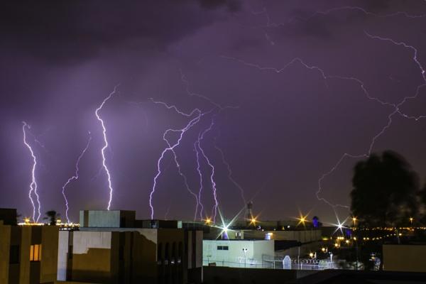 Lightning Storm by WorldInFocus