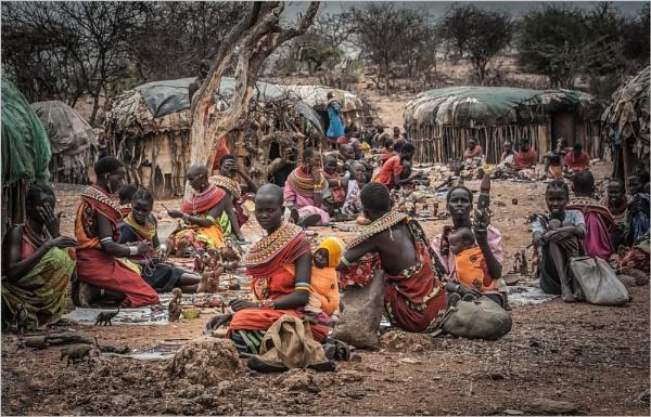 Masai People by mjparmy