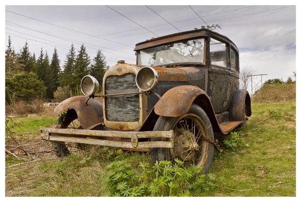 Classic car by shush
