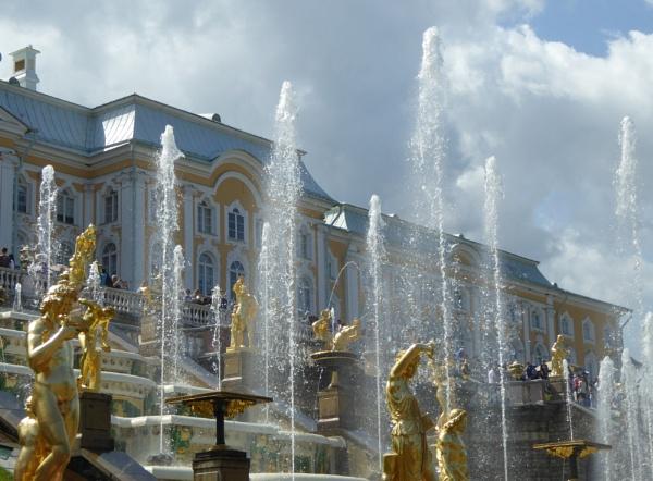Golden fountains by LibKerr4