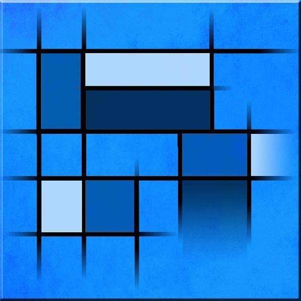 Mondrian in Motion 5 by Bonvilston
