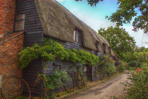 Cottages at Flatford Mill by ttiger8