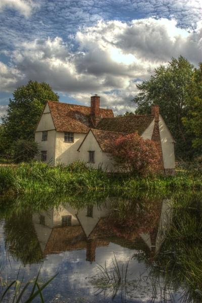 Willy Lott\'s Cottage, Flatford by ttiger8