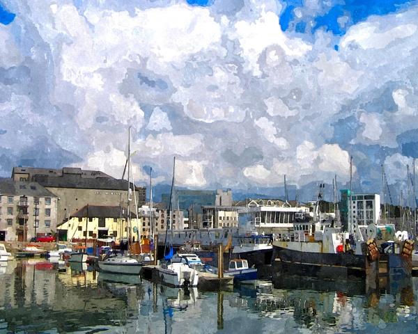 Sutton Harbour by daveupton