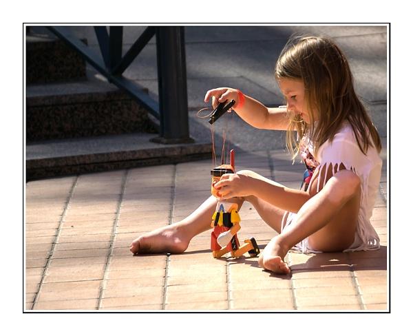 Child at Play by nikon