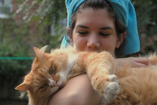 A cat Monday! by Chinga