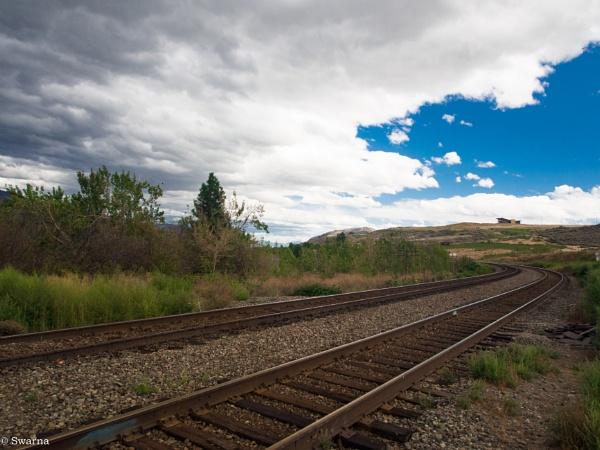 Railroad... III by Swarnadip
