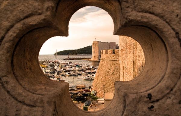 Dubrovnik Harbour by WeeGeordieLass