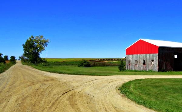 Michigan farmland by doerthe