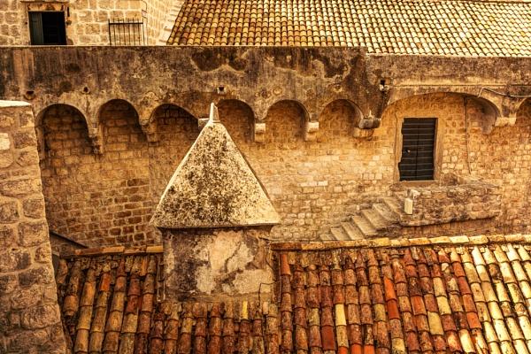 Dubrovnik Rooftops by WeeGeordieLass