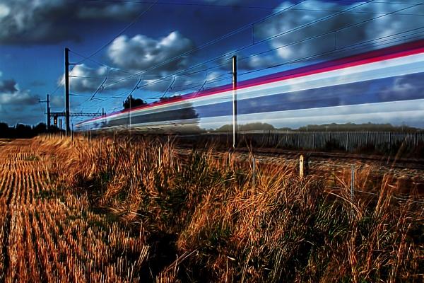 The Virgin Ghost Train by bobbinio
