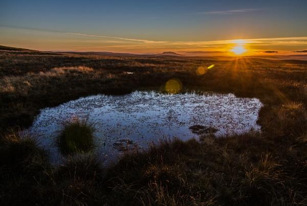 Sunset over Slemish, Co.Antrim by ANIMAGEOFIRELAND