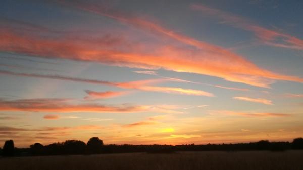 Autumn sky by Rebecca31