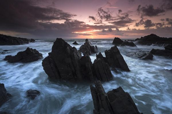 Sunset swirl by JenRogers