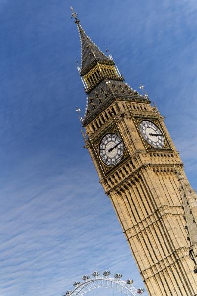 Big Ben & The London Eye. by AlanWillis