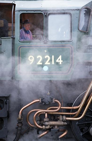 Fireman, Firebox light and Steam by Gavin_Duxbury