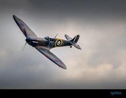 Spitfire At Dusk