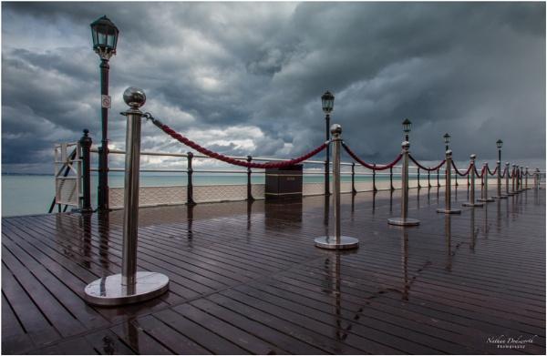 Sodden Pier by NDODS