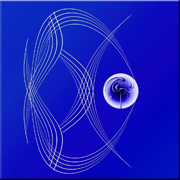 Grace 29 - Blue  Angel by Bonvilston