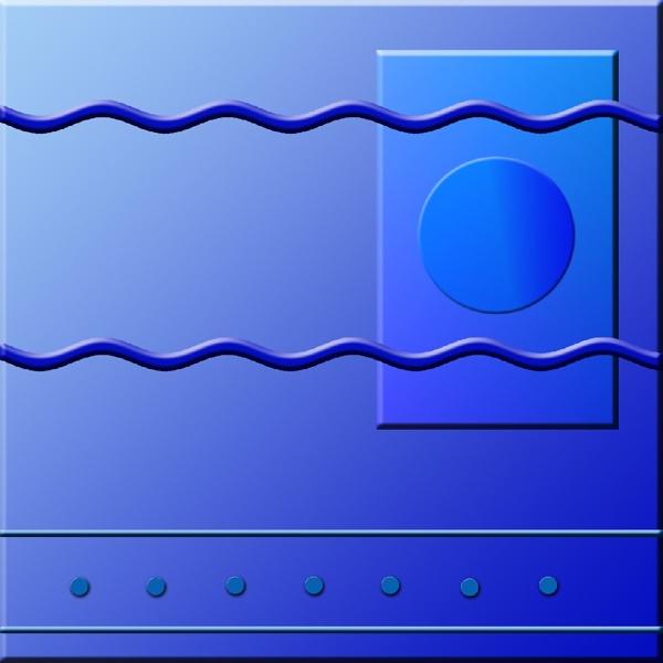 Ocean Blue - Geocracy 7 by Bonvilston