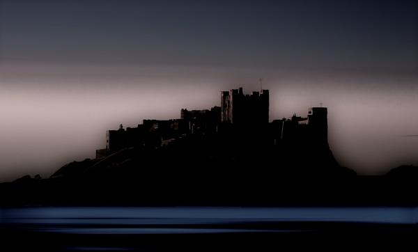 Bamburgh at Night by Mike43