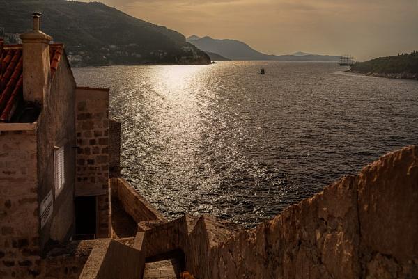 City Walls Dubrovnik by WeeGeordieLass