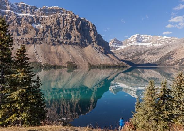 Bow Lake, Icefield Parkway, Canada by pdunstan_Greymoon