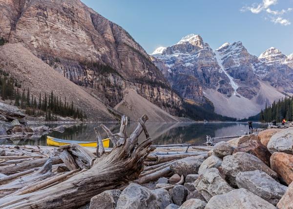 Moraine Lake, Banff National Park by pdunstan_Greymoon