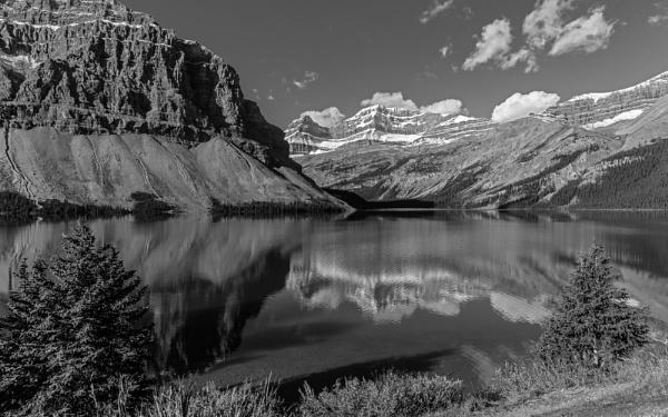 Bow Lake, Canada by pdunstan_Greymoon