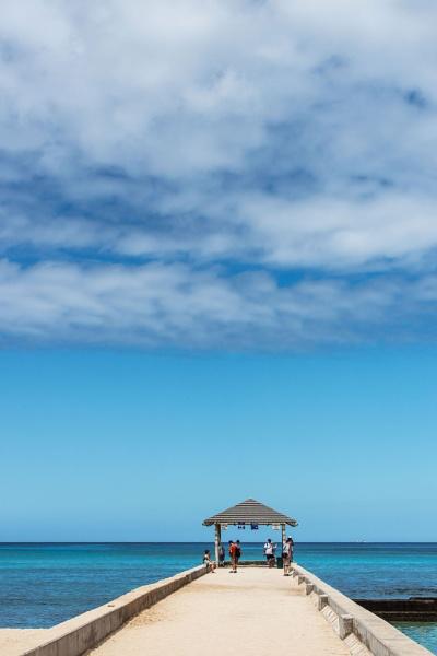 Waikiki Blue by Trevhas