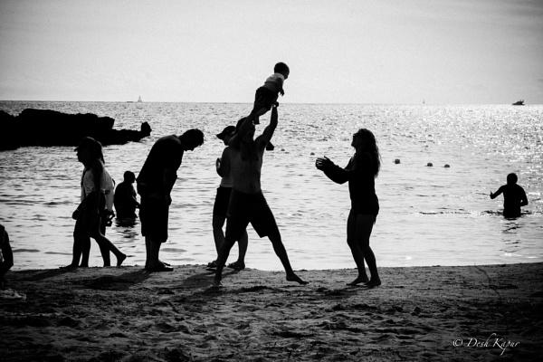 At The Beach by deshkapur