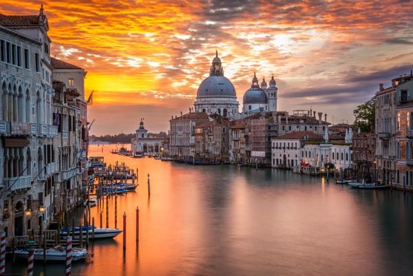 Sunrise In Venice by Nikgreg1970