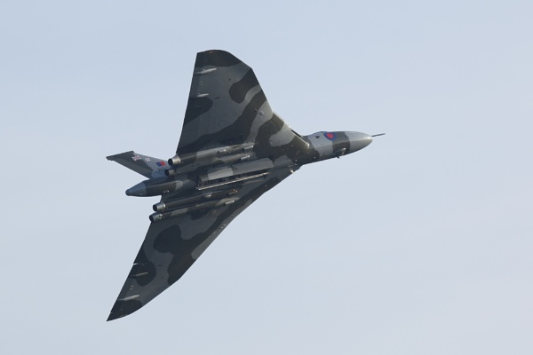 Vulcan Soars Above by Curtain