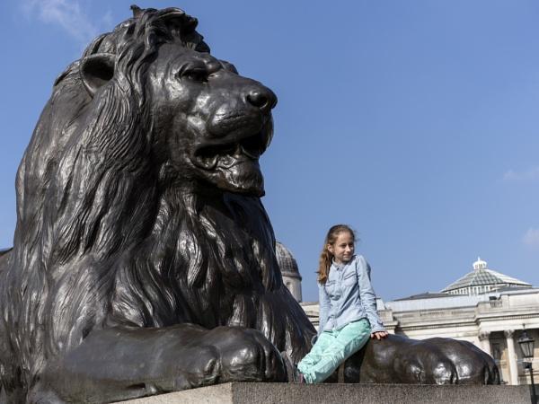 Trafalgar Square. by AlanWillis