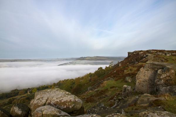 Curbar Mist by dave37