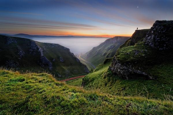 Early morning Winnats Pass by DaveShandley