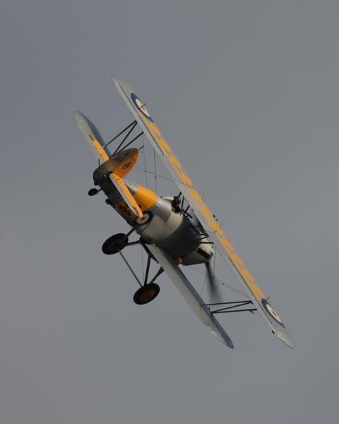 Nimrod over Duxford by Ian-Jones