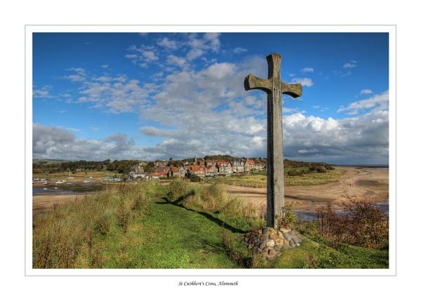 St Cuthbert\'s Cross, Alnmouth by CarolAnnLauderdale