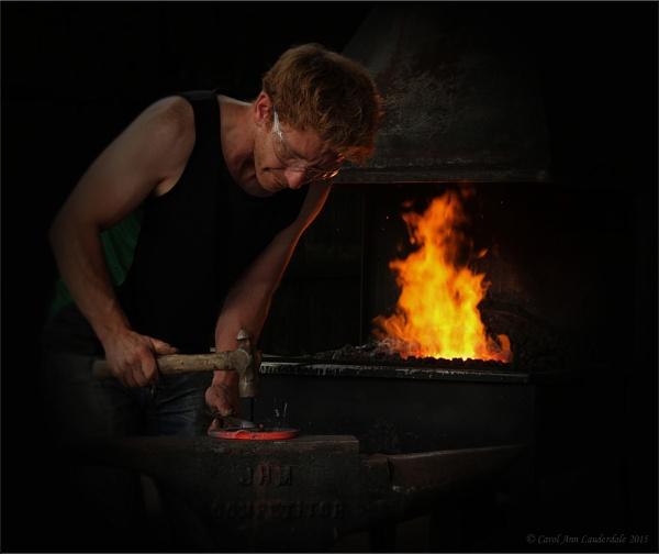 The Blacksmith by CarolAnnLauderdale